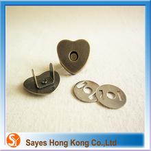Prompt response zip magnetic fastener handbag fittings for home appliance