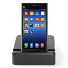Ucharger OPC-4US 4 port Smart desktop charging station with Storage base / multiple port smartphone case charger base for Ipad