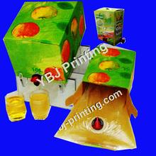 1.5L ,3L, 5L ,guangzhou bib manufacture apple juice bag in box