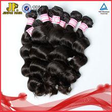 JP Hair Good Looking Hot Selling Virgin Loose Wave 100% Brazilian Human Hair Ponytail Extension