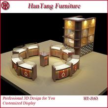 Nueva joyería de la llegada tienda de muebles / diseño kiosco para el centro comercial / muebles de extremo a extremo de la joyería