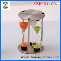 Sand Ceremony Measurement Metal 3 4 5 Min Kitchen Timers 3 in 1
