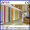 CE Tempered Art Stained Glass Sliding Doors
