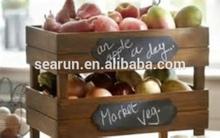 Hot Sale Custom Wood Fruit Box for Fruit Vegetables