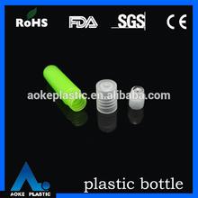 precice 5ml plastic cosmetic green empty roller ball perfume bottle