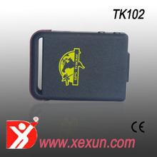 Gps Tracker pelo número de telefone / rastreamento GPS GPRS GPS carregador de carro rastreador TK série TK102