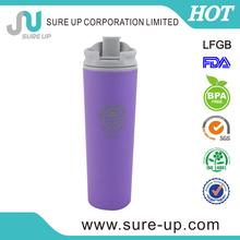 2014 Europe hot sell advertised gift 480 ml plastic coffee mug wing and custom printing (MPUK)