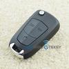 HU100 car folding key 3button 434mhz for Vauxhall/Opel Vectra C auto flip key