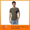 Promotional Top Quality 100% Cotton T-Shirt, Pocket Cotton Tshirts Blank
