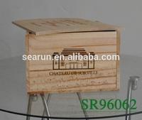 wine box wood wood gift boxes wholesale wood box for wine glasses