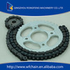 428 motorcycle chain sprocket best quality 40Mn and A3 Steel
