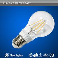 Haining CE&RoHS 4W led filament bulb e27 4000 lumen led bulb light