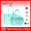 2014 pp non woven bags with bopp, blue zipper travelling bags supplier
