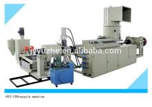 HYZ-120 nano granules pe production linemini plastic granulating machine