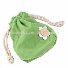 Soft Candy Color Shrink Mini Sorting Bag Drawstring Storage Bag+Shopping Bag