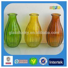 2014 hot selling color glass mini vase & glass mini bud vase