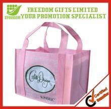 Promotional Make Your Logo Non Woven Hand Bag