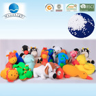 2014 Microbeads stuffed panda toy made in China
