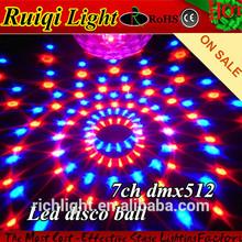 ucuz DMX512 rgb led disko topu 12v