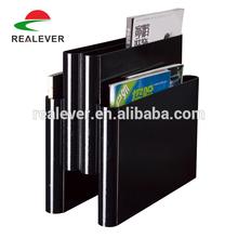 Wholesale desk-standing book holder magazine rack PP desk book rack
