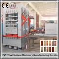 para trabajar la madera de vacío de laminación en caliente de la máquina de la prensa para las puertas