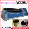 SGS Certificate 4-Roller Plate Rolling Machine W12-6X2500