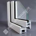 El mejor precio y buena calidad de upvc alemania diseños de ventanas de pvc perfiles de marco/los últimos diseños de la ventana