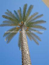 การสื่อสารหอsjh081939มากต้นไม้ขั้ว/เสาอากาศพราง/ปลอมตัวเป็น20mเทียมต้นปาล์มวันที่