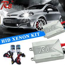 China Factory R8 Brand Xenon HID Kit headlight ultra-slim ballast single beam xenon lamp h1 h3 h4-1 h7 h11 9005 9006 880
