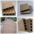Balcón suelo de madera y plástico/de suelos de madera precios/suelo laminado de la máquina de corte