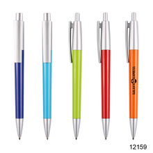matt barrel Customized Logo Plastic Pen