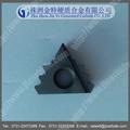 Meilleur prix et de haute qualité en carbure de tungstène plaquettes de filetage/inserts en carbure pour le fil huile api tube/huile tuyaux filetage inserts