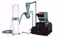 China hot sale high quality plastic pipe crushing machine/pet plastic shredding mahine