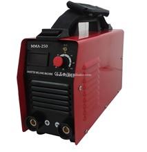 Small Portable IGBT Inverter DC CE MMA-250NI Arc Welding Machine