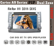 6.2inch HD 1080P BT TV GPS IPOD Fit for Hyundai H1/iload 2011 2012 car dvd player with gps
