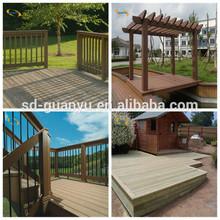 Pest-resistant wood plastic composite deck/skateboards wood decks