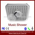 Praça chuveiro do Bluetooth música chuveiro câmera escondida chuveiro