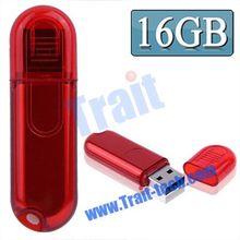 2014 New Arrived Plug and Play high speed transmission 16GB / 8GB / 4GB / 2GB Red Plastic USB 2.0 Flash Disk