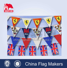 free set up artwork happy holiday bunting flag, bunting banner