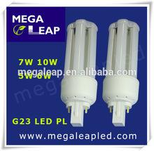 2014 alibaba China supplier megaleap new products 2014 7w g23 led pl lamp/g23 led bulb/g23 gx23 led pl lamp