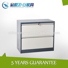 Factory provide used drawer design welding office file cabinet with file hanging rod