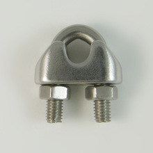 Stainless steel 304 DIN741 wire rope clip rigging hardware