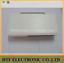 customized 5p 10/100/1000M Full Duplex and Half Duplex mode plastic case 10g gigabit ethernet switch with optic fiber price