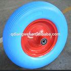 2014 Hot Sale Colorful Good Working high end wheelbarrow pu wheel