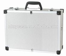 ningbo cheap aluminum /abs tool trolley case