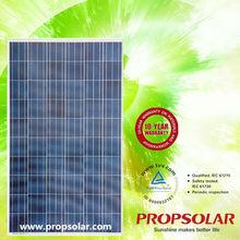 Solar Panel For Home Use With CE,TUV,UL,MCS Certificates 185 watt solar panel