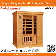 Far infrared wooden adult sauna massage rooms KN-003C