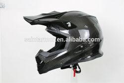 Fiberglass/Carbon 3K off road motorcycle helmet