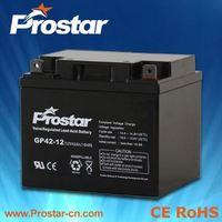 12V 42AH High Capacity Solar Recycling Lead Acid UPS Batteries