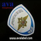 AVA silk ribbon label